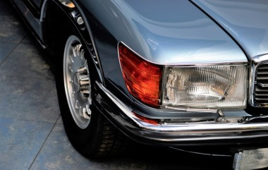 Oldtimer Mercedes-Benz W107 after renovation