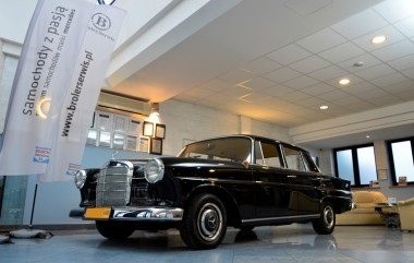 Mercedes-Benz W110 Oldtimer after renovation