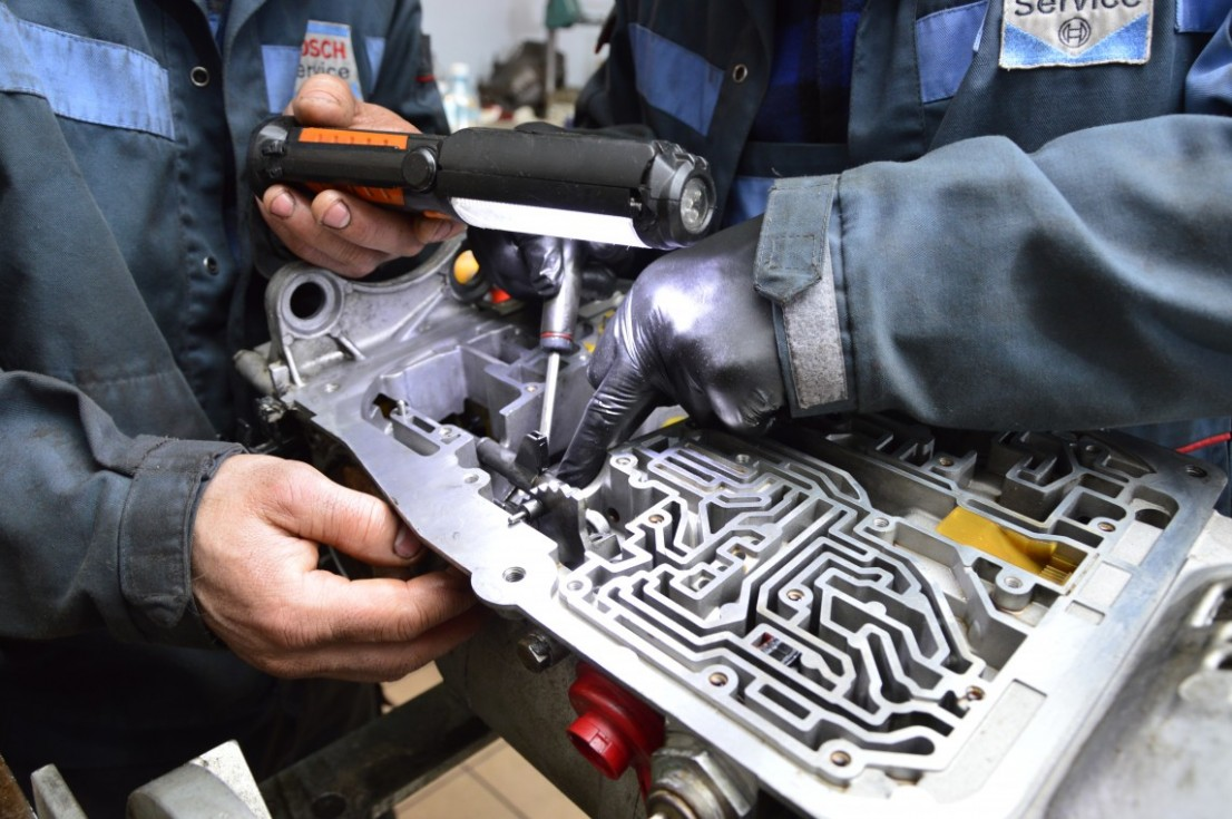 Automatic gearbox hydraulic system diagnostics