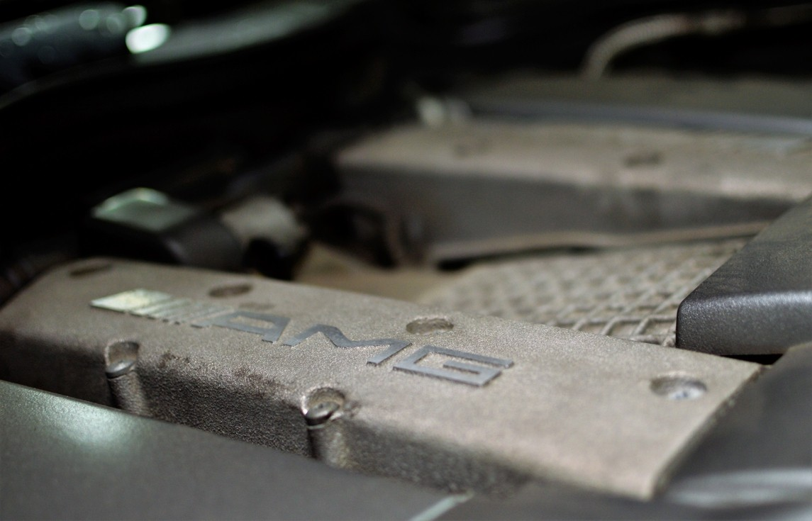 Mercedes-Benz AMG engine main repairs
