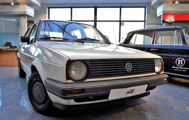 Volkswagen Golf I Oldtimer after renovation